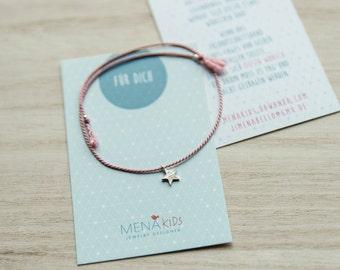 Friendship bracelets MENAkids / star