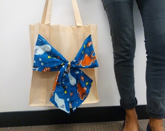 Disney Bow Shopper Tote Bag