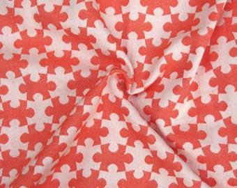 Woven Baby Wrap Sling Daiesu Jigsaw Tangerine