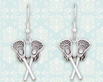 Lacrosse Sticks Earrings - 54868