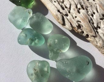 Pretty Bonfire Glass shards of Scottish Sea Glass SG 23.2.16.2