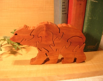 Brown Bear Wooden Puzzle #219