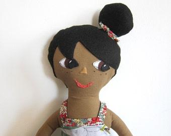 Nabila Doll - organic fabric