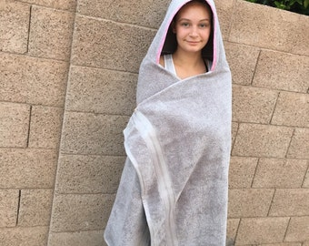 Adult hooded towel