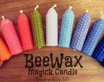 Beewax Candle Magick