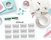 "SNARK SERIES: ""The chain on my mood swing is about to snap"" Paper Planner Stickers!"