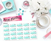 "MCM MANTRAS: ""I Will Be Grateful For This Day"" Paper Planner Stickers!"