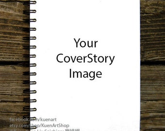 CoverStory: Your CoverStory Sketchbook/Notebook/Sketch Book, Personalized Gift, Custom Sketchbook, Photo/Picture Gift, Birthday/Valentines