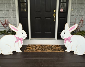 Easter Bunny Outdoor Lawn Decor