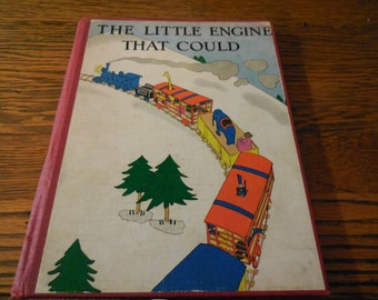 EXRARE 1st Print The Little Engine That Could Lois Lenski Very Clean