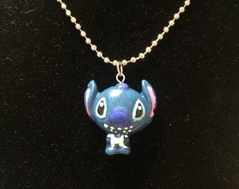 Disney's Stitch from Lilo and Stitch (Alien) Necklace