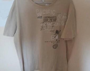 """Pretty mens T-shirt """"Pacific"""""""