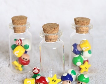 1 Super Mario Bros characters in a vial