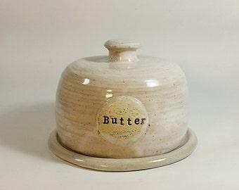 Butter Dish-Farmhouse-Pottery Butter Dish-Kitchen-Pottery-Dish