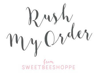 Rush My Digital Order: Within 24 Hours