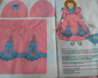 Vip Cinderella doll and pillow pattern