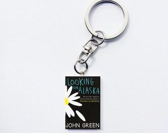 Looking for Alaska mini book keychain