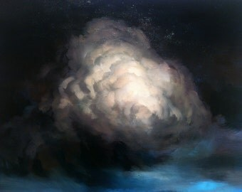 Stunning original cloud painting