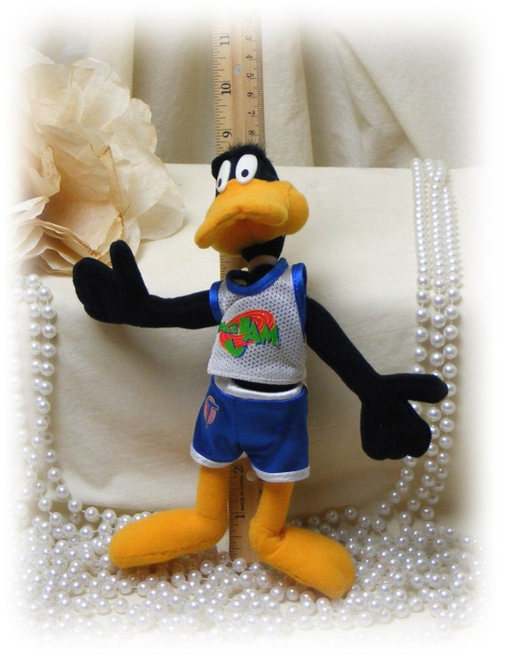 DAFFY DUCK . . Space Jam . . . Marked 50% Off