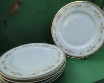 "Bavaria Small Dessert Plates 6 1/2"" set of 5"