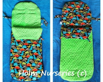 Handmade Cosytoes / footmuff / pram liner made to order