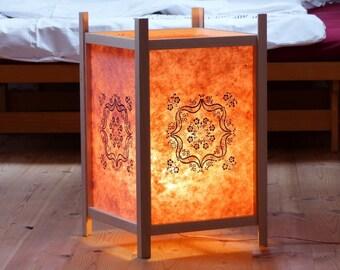 Japanese shoji lamp, lantern