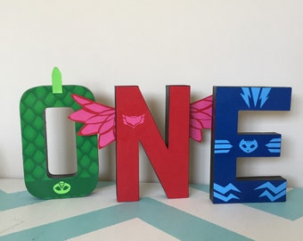 Custom Decorated Stand Alone Letters - Embelished - Extra Embellishments - Stand Alone Letters - Super Heroes - Captain America