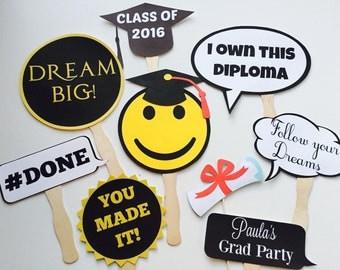 New graduates props