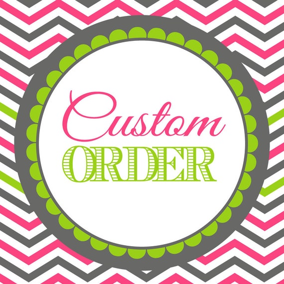 Custom Graphic Design Printable Order by DecoroDesign on Etsy