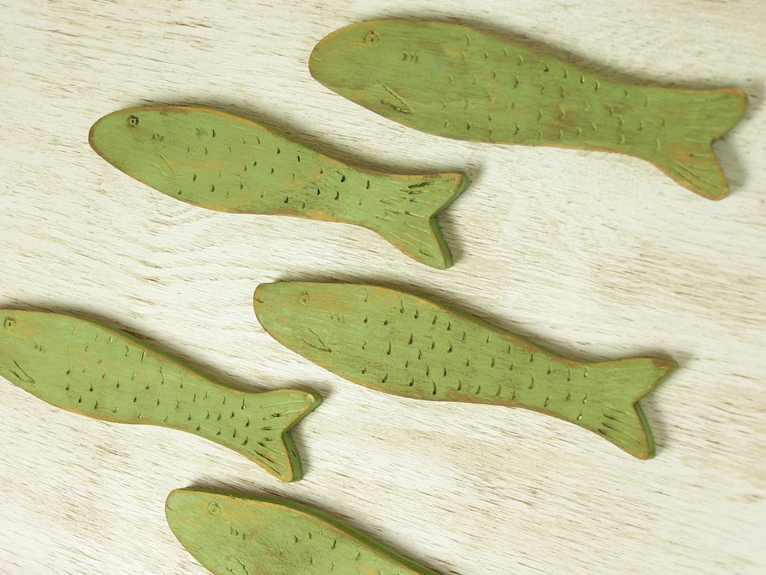 Wooden Fish Wall Art wooden fish decor school of fish wall art minnow fish art lake