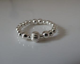 sterling silver thumb ring uk seller 925 stretch ring