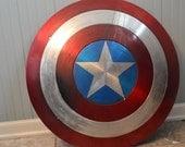 "Captain America Shield ""Panther Battle Damage"""
