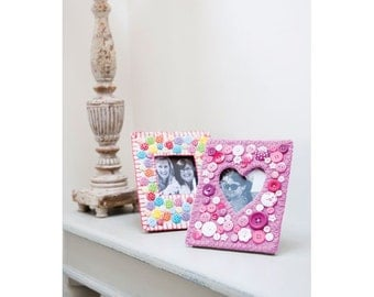 Button Picture Frames Sewing Pattern Download 803399