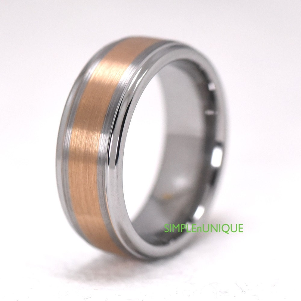 wedding ring bands promise ring for him by simplenunique