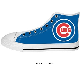 Unique Chicago Cubs Shoes Related Items Etsy