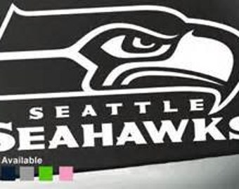 Seattle Seahwks  decal  free shipping
