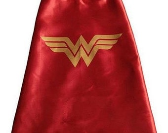 Wonder Woman Cape for Super Hero costume