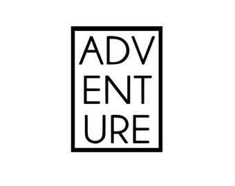 Adventure Quote Decal Vinyl Sticker