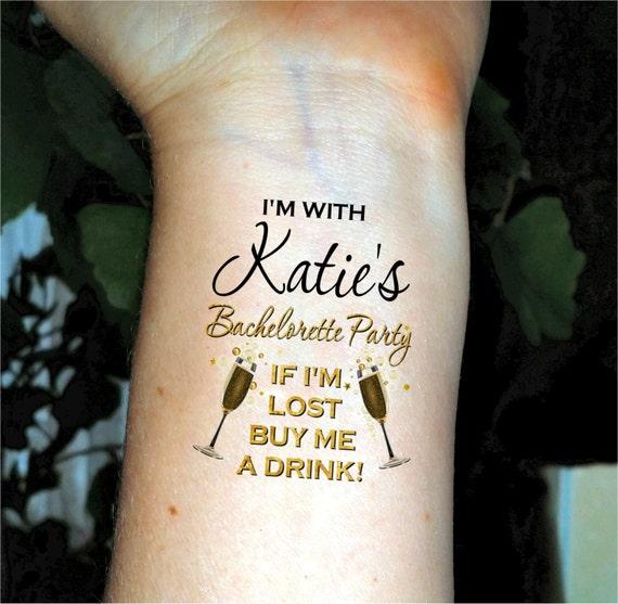 Bachelorette tattoos bachelorette party tattoos temporary for Bachelorette party tattoos