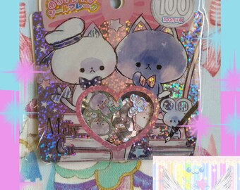 Kawaii Sailor Kitty Sticker Flake