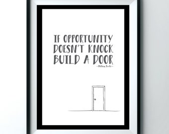 Milton Berle quote poster