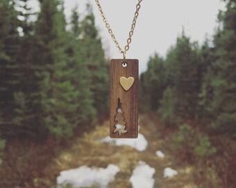 Spruce Tree Necklace