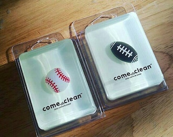 Come Clean Football Soap Bar Baseball Soap Bar