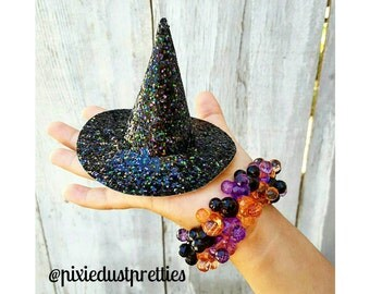 Mini Witch Hat with BOW