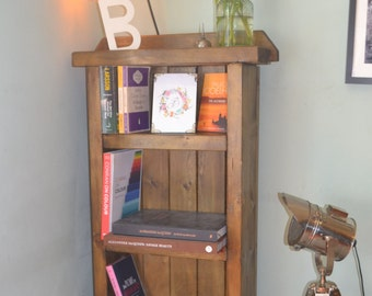 Industrial Mid Century Modern Bookcase - We Can Deliver