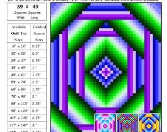 0130 Cornered Mandala 1 Quilt Pattern
