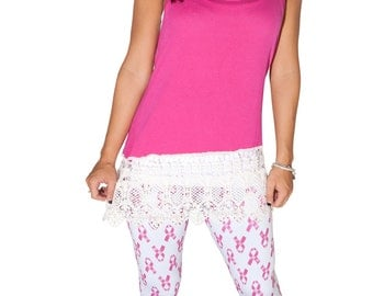 My Breast Friends Leggings - Show your support for cancer awareness and research - Great gift item