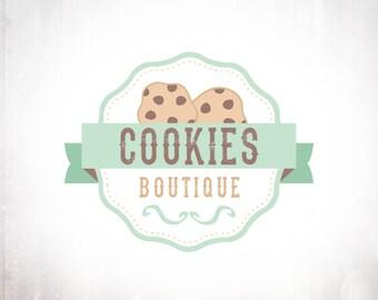 Cookies Logo Design - Premade OOAK