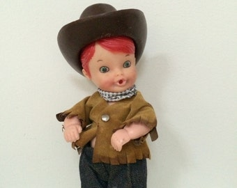Ginger Cowboy Doll -