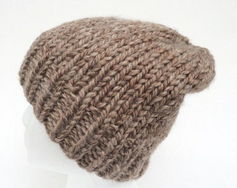 Chunky Knit Hat (Made to Order) with or without pom pom
